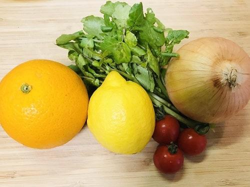 カルパッチョに合う野菜