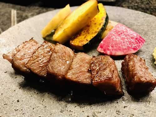 佐賀牛のサーロインステーキ