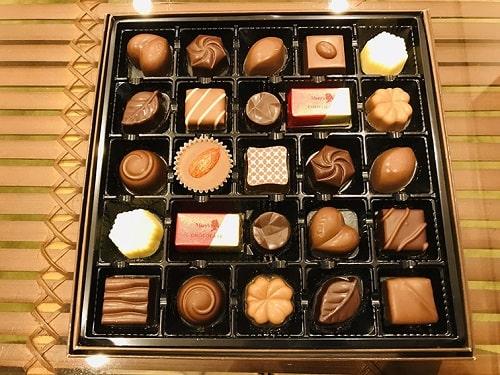 色々な種類のチョコレート