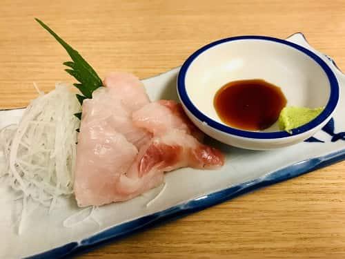 本日の鮮魚