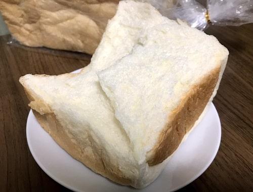 甘味が強い純生食パン
